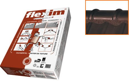 Flexim Roof Mortar Pack Of 10u0026nbsp;strips (9 Kg) For 3u0026nbsp;u0026ndash