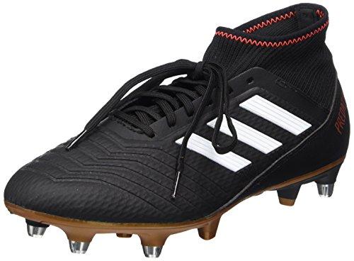 c0b33c22e adidas Predator 18.3 SG, Scarpe da Calcio Uomo, Nero Cblack/Ftwwht/Solred,  43 1/3 EU