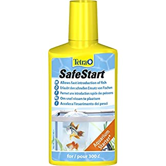 Tetra SafeStart, Allows Fast Introduction of Fish in a Fish Tank, 250 ml 10