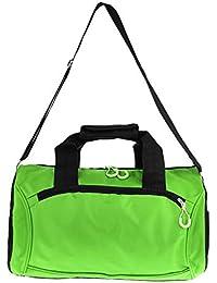 8f0cd4c3fd64c perfk Wasserdichte Sporttasche Tasche Reisetasche Reisekoffer Trainigstasche  mit Schultergurt Tragegurt für Reisen Fitness…