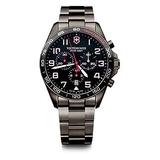 Victorinox Hombre FieldForce Sport Chronograph – Reloj de Acero Inoxidable de Cuarzo analógico de fabricación Suiza 241890