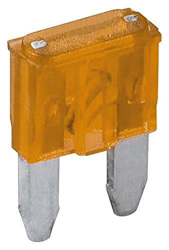Fixpoint 20387 Kfz-Sicherungssortiment Mini, 5 A, Orange (6-er pack) 5a Pack