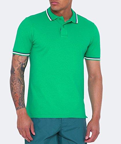 Sundek Herren Pique Polo-Shirt von brice Grün Grün