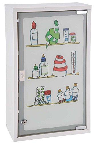 SIDCO XXL Medizinschrank Hausapotheke Erste Hilfe Medikamenten Schrank Arzneischrank