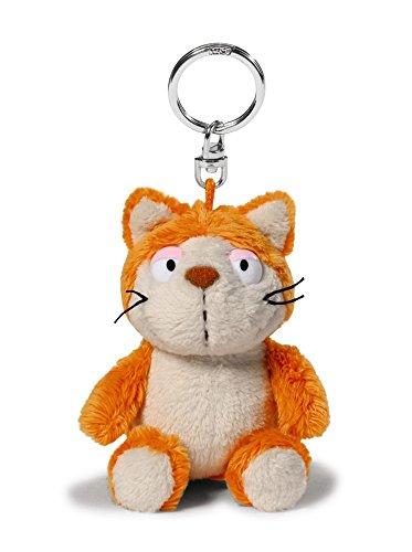 Preisvergleich Produktbild Nici 39019 Katze Plüsch Schlüsselanhänger, orange/beige