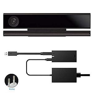 Behavetw Kinect 2.0 Sensor Power Adapter für Xbox One S Xbox One X, Unterstütztes System Windows 8/8.1/10, Wie abgebildet, eu Plug