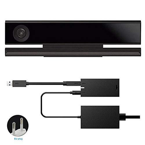 Behavetw Kinect 2.0 Sensor Power Adapter für Xbox One S Xbox One X, Unterstütztes System Windows 8/8.1/10, Wie abgebildet, eu Plug (Video Kinect)