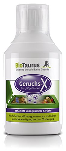 Biologischer Geruchsentferner BioTaurus Geruchs-X Bio/Abfalltonne - 0,5 L