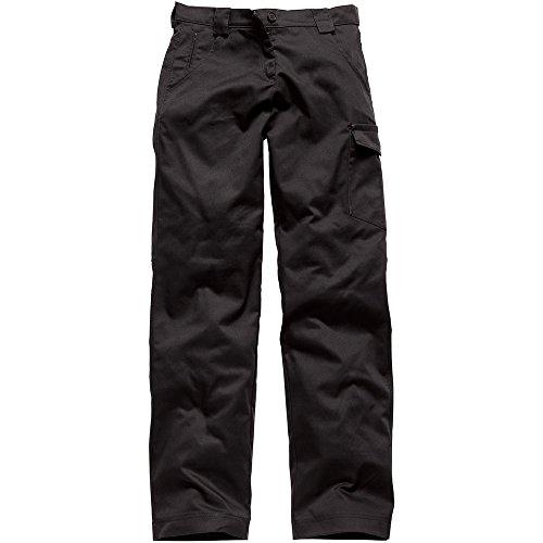 Dickies Winter-overall (Dickies Damenbundhose, Größe 44, schwarz, 1 Stück, WD855 BK 18)