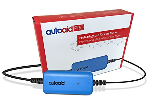 autoaid® Pro Kfz Diagnosegerät für alle Volvo - herstellerspezifische Tiefendiagnose für C30, S60, V60, XC60, V70, S80, XC 90 inkl. Service Rest, Parkbremse, Codierung usw.