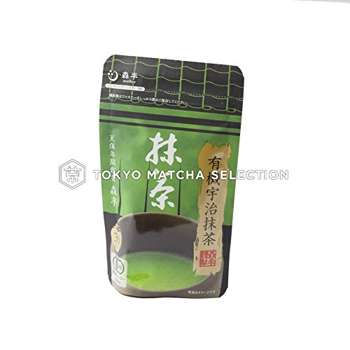 TOKYO MATCHA SELECTION TEA - [JAS Certified/Ceremonial Grade] Morihan tee : Organic Matcha Grüner Tee Pulver 30g (1.05oz) from Uji Kyoto [Standard ship by SAL: NO tracking number]