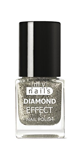 My Nails – Silver Diamond Effect