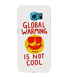 Global Warming 3D Hard Polycarbonate Designer Back Case Cover for Samsung Galaxy S6 :: Samsung Galaxy S6 G920