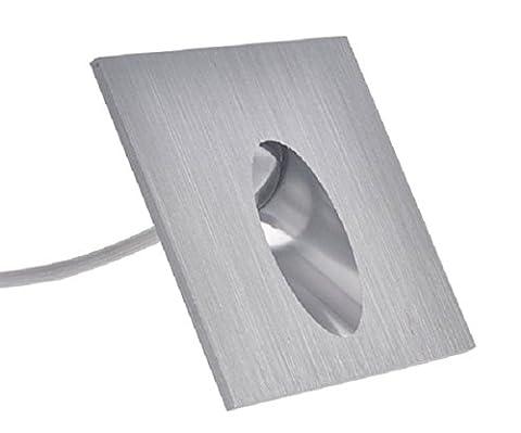 1W LED-Wandleuchte Einbauleuchte 230v Wandleuchte Treppenlicht Stufenbeleuchtung (Warmweiß)