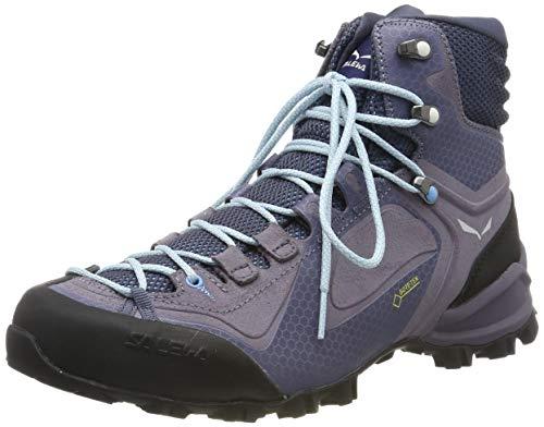 Salewa WS ALPENVIOLET MID GTX, Damen Trekking- & Wanderstiefel, Grau (Grisaille/ethernal Blue 455), 39 EU (6 UK)