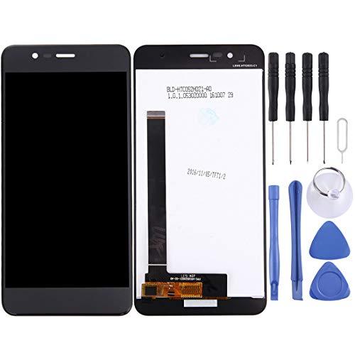 Unbekannt TCPHTIY Reparatur LCD-Display und Digitizer Vollversammlung for Asus ZenFone 3 Max / ZC520TL / X008D (038 Version) (Schwarz) Ausrüstung (Farbe : Black)