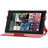 La funda Gecko Covers Google Nexus – Luxe para el Google Nexus 7 Tablet/Google Nexus accesorio rojo
