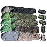 Extra warmer Mumien Schlafsack 230 x 80 cm Festival Sleepingbag Camping Outdoor in verschiedenen Farben