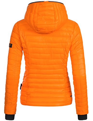 Navahoo Kimuk, veste matelassée pour dame mi-saison Orange