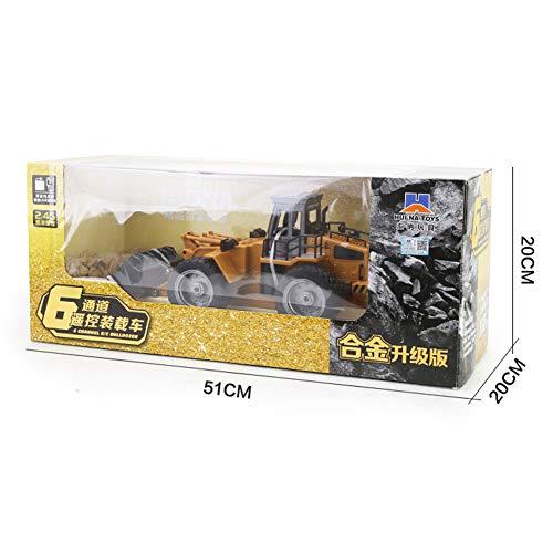 RC Auto kaufen Baufahrzeug Bild 6: omufipw 2,4 G Funksteuerung Bulldozer Frontlader Baufahrzeug Elektronisches Spielzeug RC Truck Traktor Junge Geschenk*