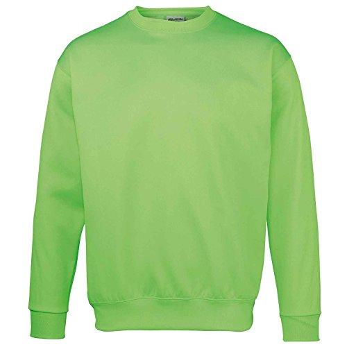 AWDis - Sweat-shirt - Moderne - Femme Electric Green