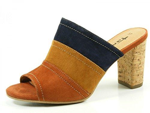 Tamaris 1-27203-26 Mules mode femme Beige - Tan Multi