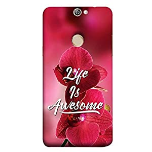 YuBingo Designer Phone Back Case Cover Coolpad Max A8 ( Life is Awesome )