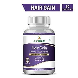 Leanhealth 100% Natural & Hair Management Herbal Supplement 60 Capsules Pack Of 1