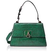 Guess Stephi Top Handle Flap, Satchel Bags Woman, One Size Size: 27,5X17,5X9,5 Cm