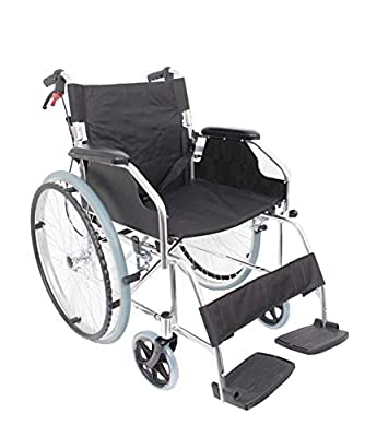 Angel Mobility AMW1863SP Ultra Lightweight Folding Self Propelled Wheelchair Net Weight Only 11 KG