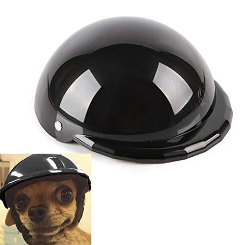 DOGCATMM Cappellino per Casco da Moto per Moto per Cane da Compagnia per Protezione da Pioggia per Hallow