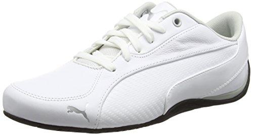 Puma Unisex-Erwachsene Drift Cat 5 Carbon Low-Top Sneakers , Weiß (Puma White 03PUMA White 03),  48.5 EU (UK 13 UK ) -