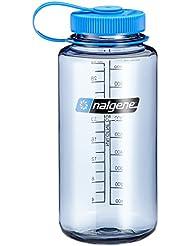 Nalgene NL21789016 - Bidón con boca ancha de acampada y senderismo, color gris