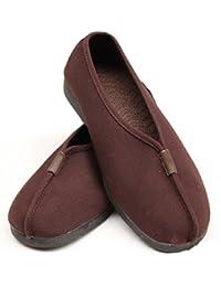 zooboo Monje Shaolin Unisex Zapatos De Artes Marciales Kung Fu Zapatillas Marrón marrón Talla:8,5 UK