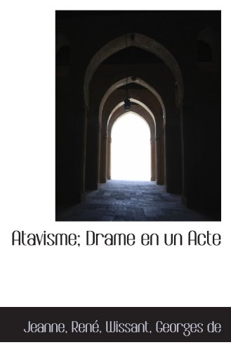 Atavisme [Pdf/ePub] eBook