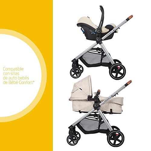 Imagen para Bébé Confort ZELIA 'Nomad Sand' - Cochecito urbano 2 en 1, diseño compacto, sistema plegable, para bebes de 0 meses hasta 3,5 años, color beige