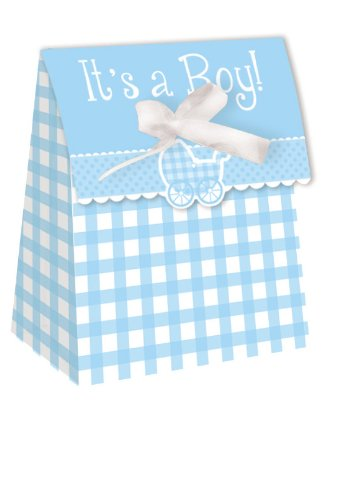 its-a-boy-blue-gingham-party-bags-with-ribbon