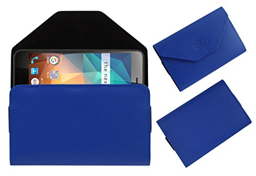 Acm Premium Flip Flap Pouch Case for Xolo Era 2x 2gb Mobile Leather Cover Blue  available at amazon for Rs.179