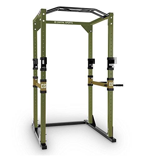 capital-sports-tremendour-power-rack-stazione-allenamento-2-safety-spotter-4-ganci-j-regolabili-barr