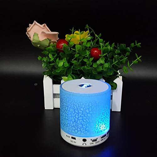 Lnyy Bluetooth-Lautsprecher Burst Crack Mini Stereo-Outdoor-Tragbare Sport USBTF Radio Subwoofer * 78 * 77mm