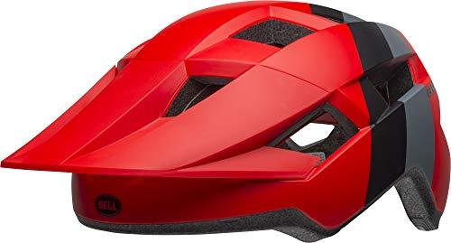 Bell Unisex Jugend Spark MIPS Fahrradhelm, downdraft mat Crimson/Black, Unisize
