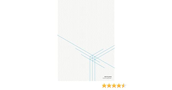 Whitelines A4 Isometric Graph Paper Whitelines