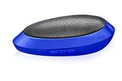 Divoom I-Tour Wow Mini Portable 3W 500mAh Speaker with FM Function,AUX, Micro SD Card Support - Blue