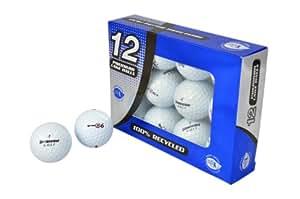 Second Chance E6/E6+ 12 Balles de golf recyclées Catégorie A