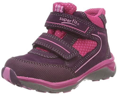 (Superfit Mädchen SPORT5 Hohe Sneaker, Violett (Lila/Rosa 90), 31 EU)