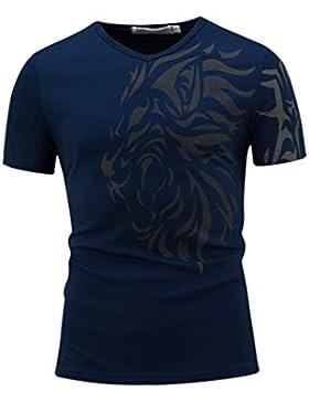 Gladiolus Camiseta Para Hombre Camiseta De Manga Corta Y Cuello Redondo Casual T Shirt Camiseta
