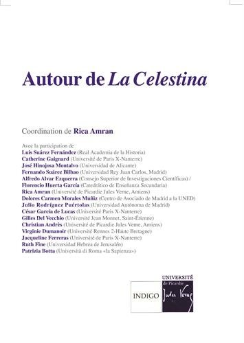 Autour de La Celestina