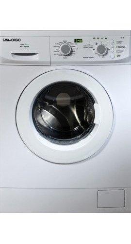 SanGiorgio SES612D lavatrice Libera installazione Caricamento frontale Bianco 6 kg 1200 Giri/min...