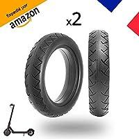 [MagicBike®] 2 pneus plein Haute qualité anti crevaison pour Trotinette électrique Xiaomi M365 8 1/2x2