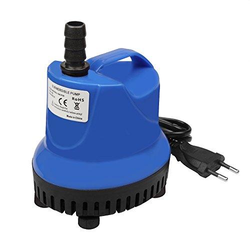 TSSS 18W 900L/H Tauchpumpen Wasserspielpumpe Wasser Pumpen für Gartenentwässerung Aquarien Garten Brunnen Gartenteich Springbrunnen Water Pump